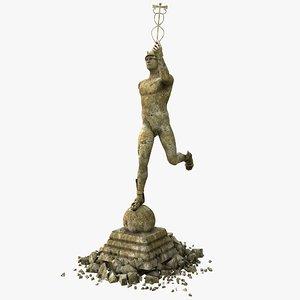 hermes statue max