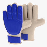 3ds max goalkeeper soccer gloves