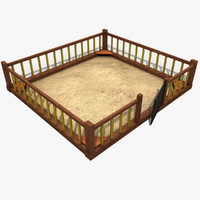 sandbox wood wooden