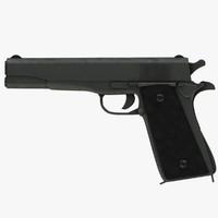 3d gun pistol