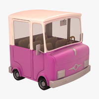 truck cartoon 3d 3ds