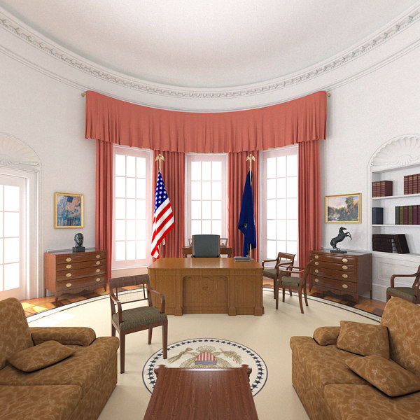 oval office interior