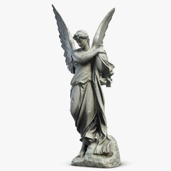 angel sculpture 3 s