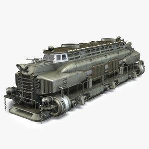 post apocalyptic train