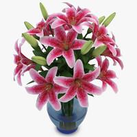 lily pink fbx