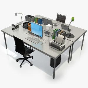 desk accessories 3d dxf