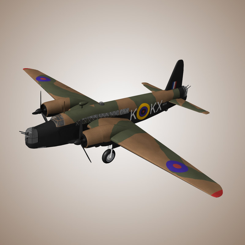3d model purchase vickers wellington