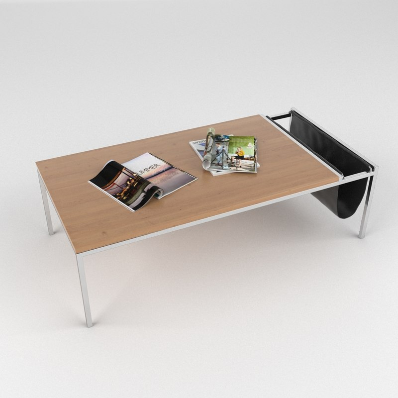 3dsmax coffee table