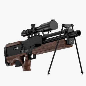 3d sniper rifle walther wa model