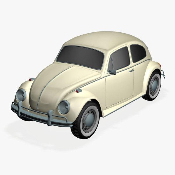 3ds volkswagen beetle