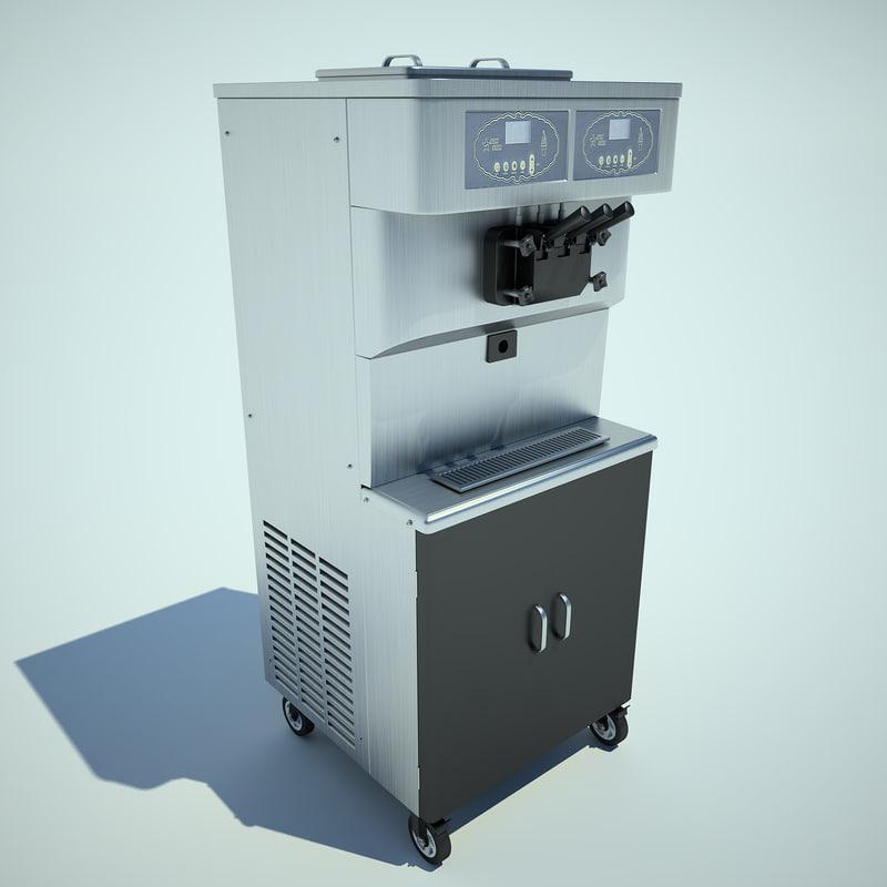 3ds max ice cream machine