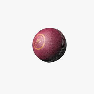 cinema4d leather cricket ball