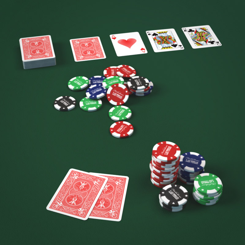 3d poker play cards fiches