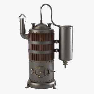 3ds max moonshine apparatus