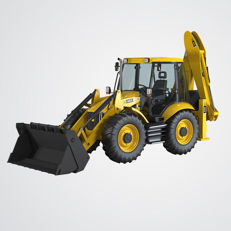4cx loader backhoe max