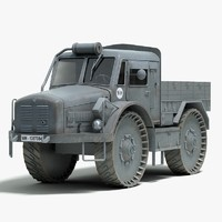 3d model german skoda rso