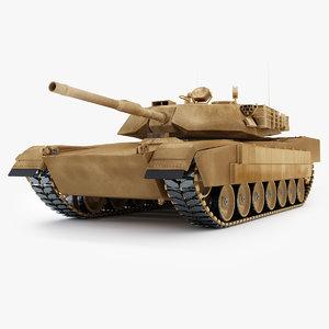 tank abrams low- 3d max