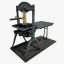 printing press 3D models