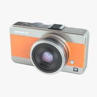 photoreal camera olympus concept 3d max