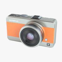 photoreal camera olympus concept 3d max