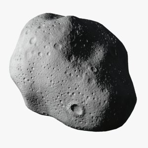 3d model of asteroid