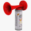Air horn 3D models