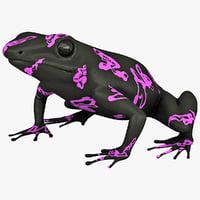 atelopus frog 3ds