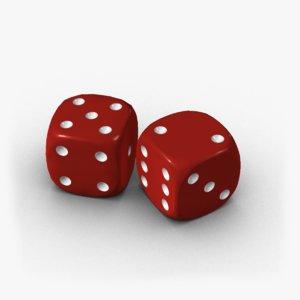 3d model dice