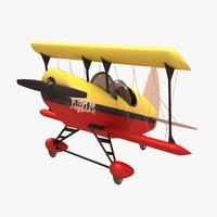 3ds acrobatic plane