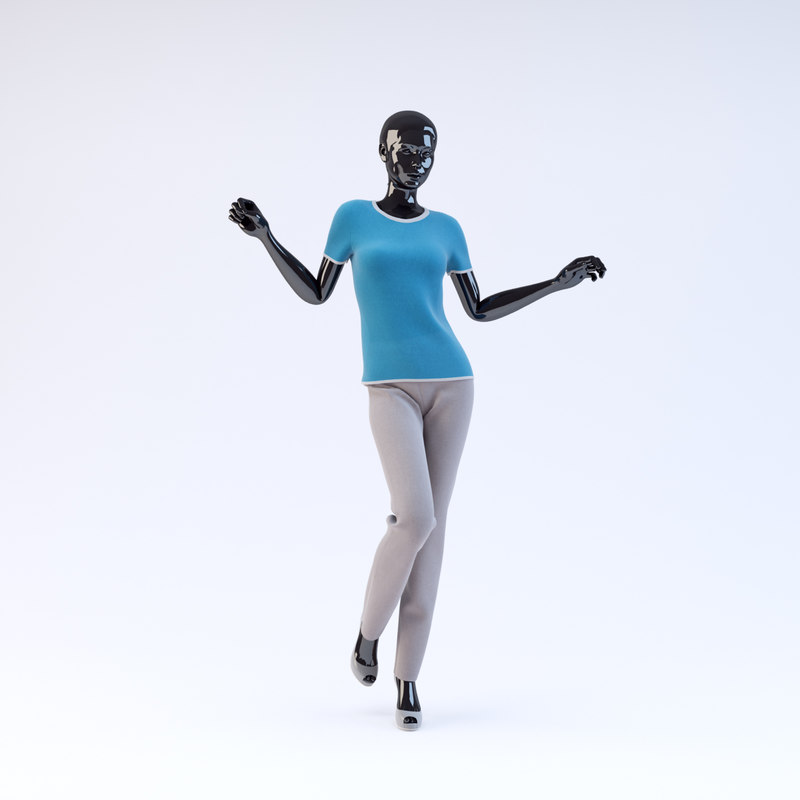 3d showroom mannequin 20