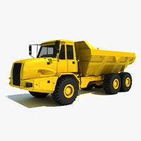 3ds max dump truck