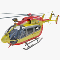 max eurocopter ec145 rigged helicopter