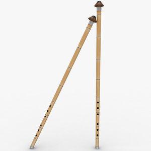 3ds ney instrument