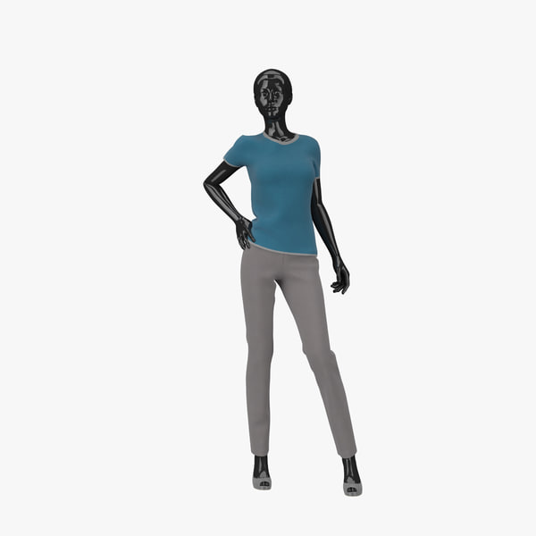 3d showroom mannequin 18