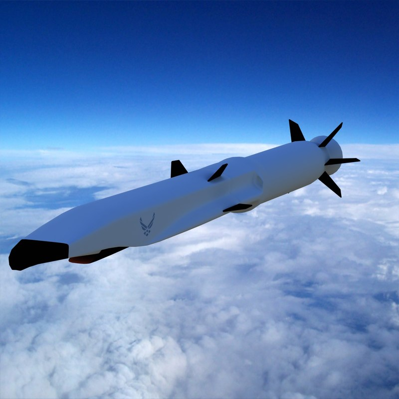 boeing x-51 cruise missile 3ds
