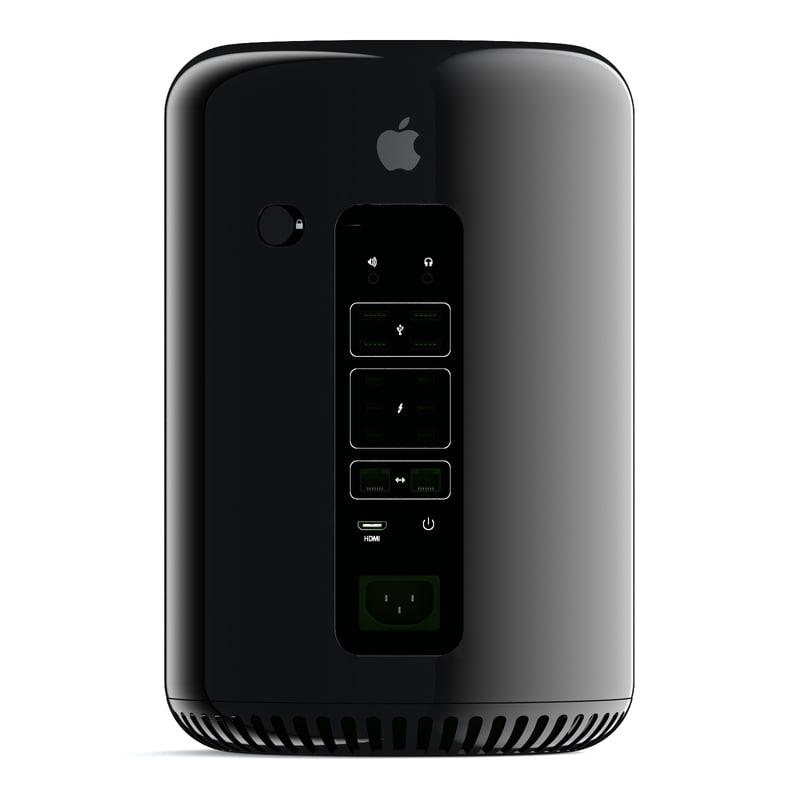 apple mac pro 2013 obj