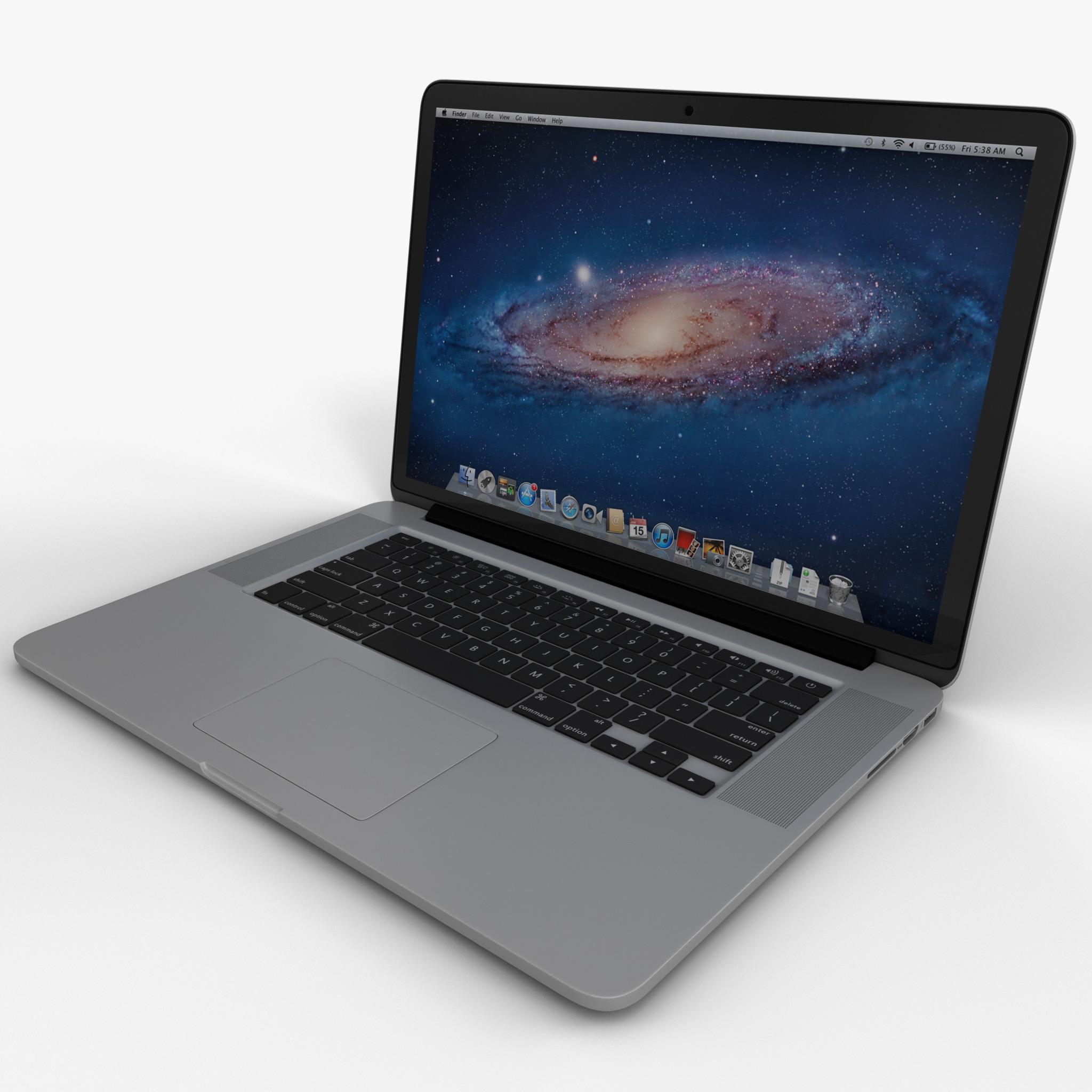 3d macbook pro retina display