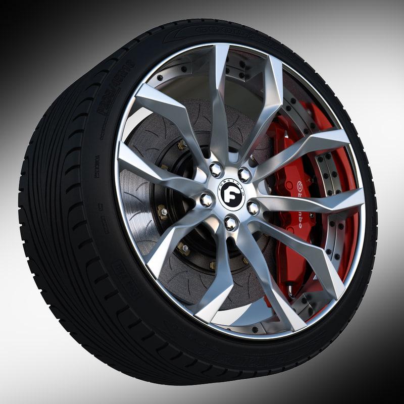 max wheel forgiato f2 16