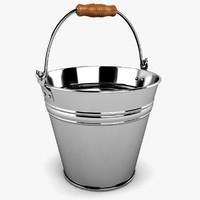bucket 3d dxf