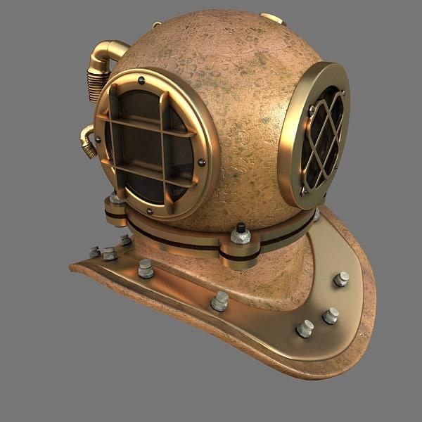 max diving helmet
