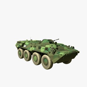 3d btr-80 armoured personnel
