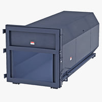 industrial waste container max