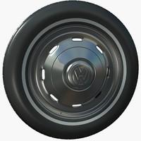 3d volkswagen tire