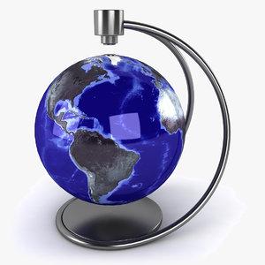 3d max levitation globe