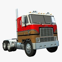 international 9670 cabover truck lwo