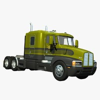 truck t600 roof 3d lwo