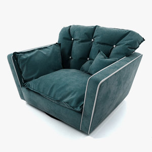 obj sorrento armchair baxter