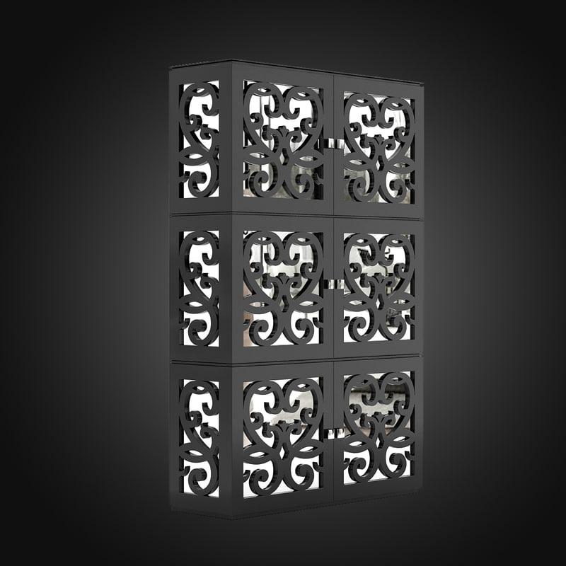 3d paris cabinet tonin casa model