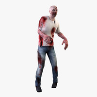 zombie ged 3d model