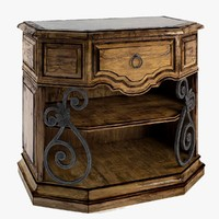 segovia bedside chest marge 3d max